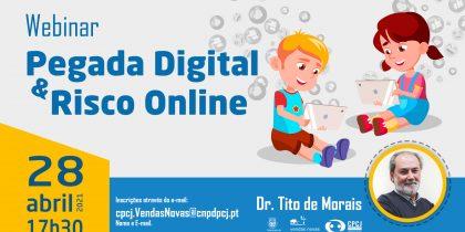 "Webinar ""Pegada Digital & Riscos Online"""